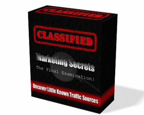 Product picture Classified Marketing Secrets  PLR