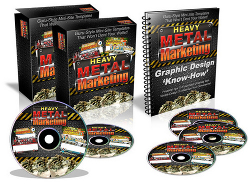 Product picture Heavy Metal Marketing (with MRR)